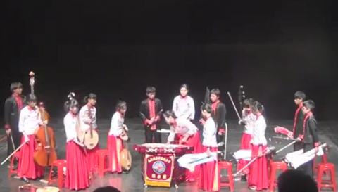 108學年度國中B組絲竹室內樂第一名